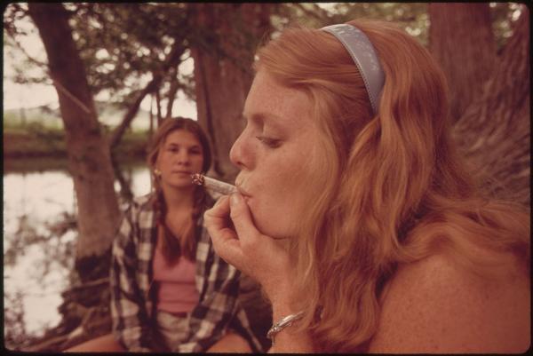 7 in 10 Americans say smoking weed is…