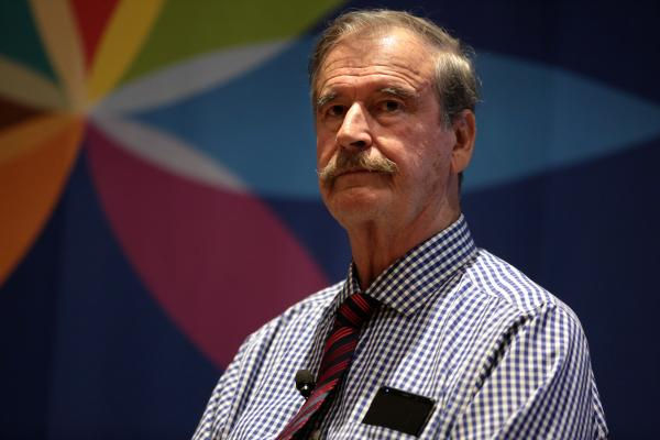 """photo image Interview with Former President of Mexico Vicente Fox: """"Trump Should Go for Legalization"""""""