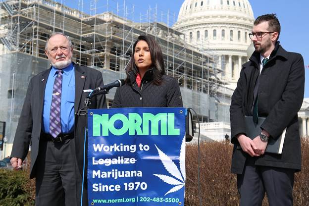 Congressman Files Marijuana Bill After…