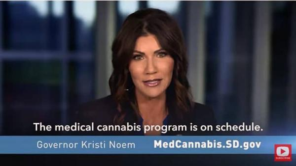 South Dakota Governor Who Opposed Cannabis Legalization Uses Taxpayer Dollars to Fund Ad on Cannabis Legalization