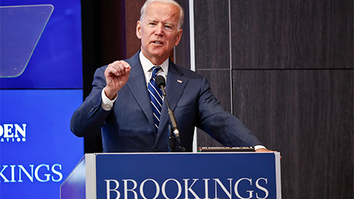 Joe Biden Applauds Speaker Who Says…