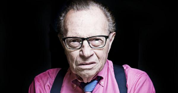 photo of Larry King on Pot: 'I Would Legalize It' image