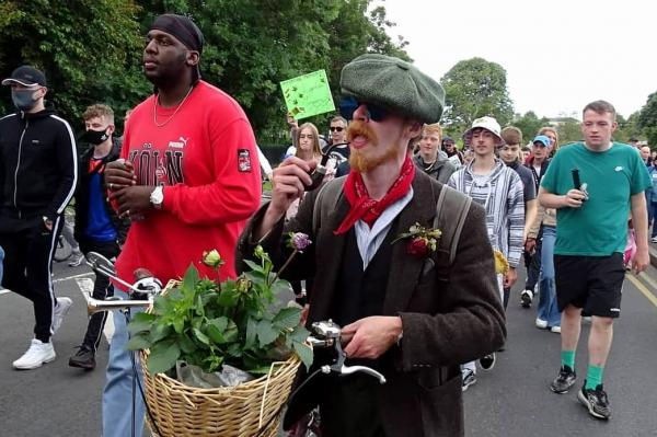 Over 1,000 people march for cannabis reform in Ireland
