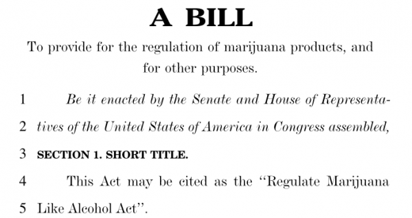 H.R. 420: Proposed Federal Legislation to End Marijuana Prohibition