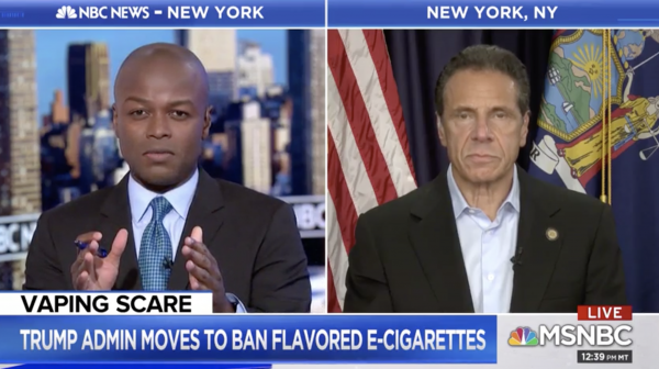 photo of New York Gov. Cuomo Hints Marijuana Smoking Ban Could Be Part Of Next Legalization Push image