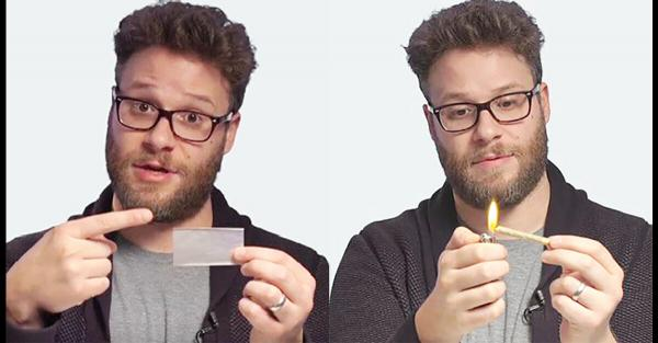 To Seth Rogen, Weed Is Like Shoes or Glasses