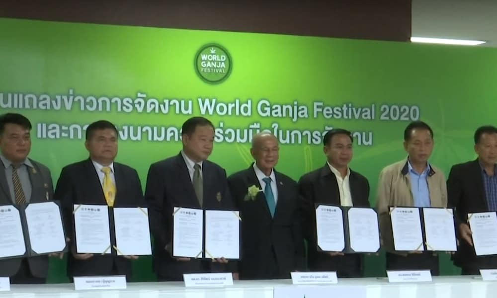 Thailand To Host Inaugural World Ganja…