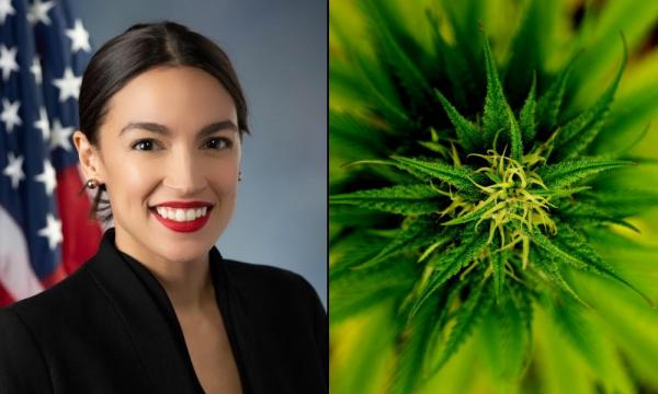 photo of AOC Wants To Work With Republicans To Legalize Marijuana, End War On Drugs image