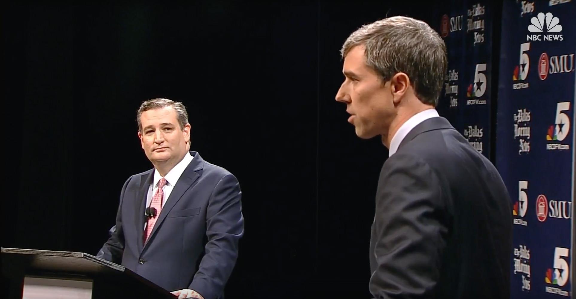 O'Rourke And Cruz Clash On Marijuana…