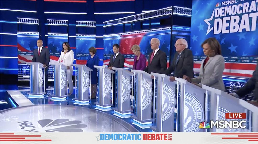 photo of Cory Booker Slams Joe Biden's Marijuana Legalization Opposition At Debate image