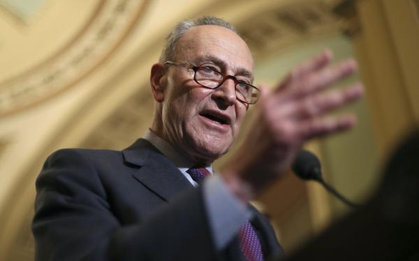 photo of 'Vote Democrat to legalize it', Sen. Chuck Schumer tells Leafly image