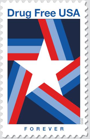 Postal Service Unveils 'Drug Free USA…