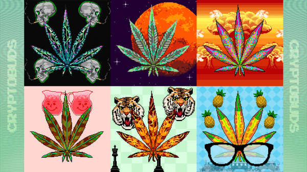 This NFT crafting game lets you build your own digital weed empire