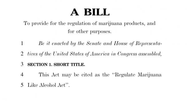 photo of Read Congress's New H.R. 420 Marijuana Bill image