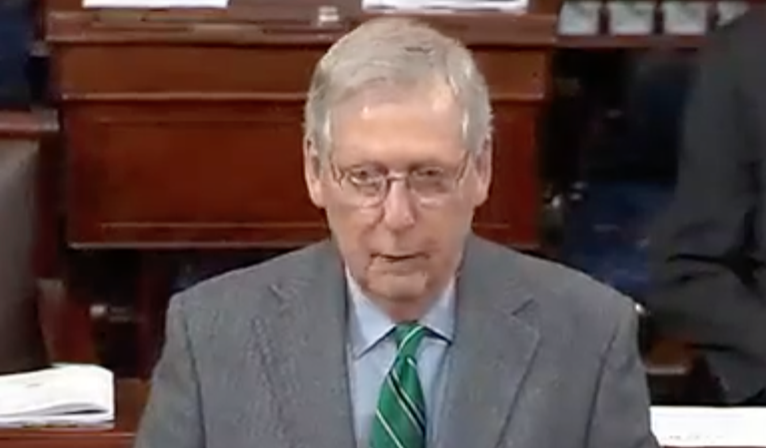 Mitch McConnell Says Trump Can Borrow His Hemp Pen To Sign Farm Bill Into Law