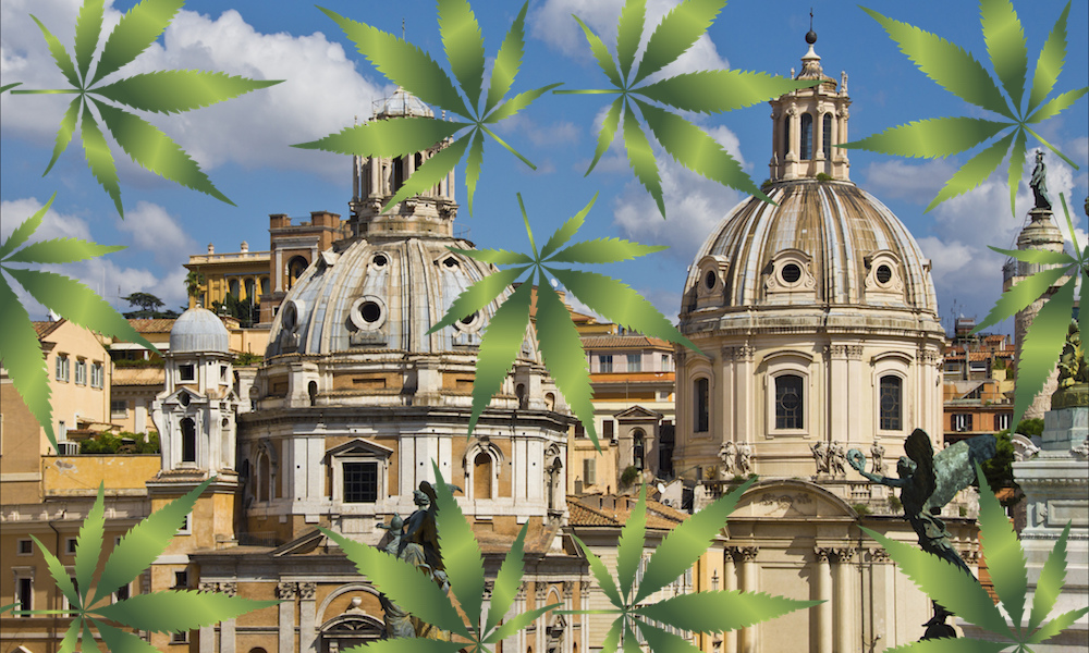 photo image Medical Cannabis Will Be Sold In Italian Pharmacies