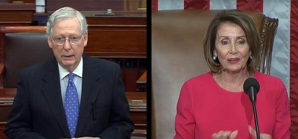 McConnell Attacks Pelosi for Claiming Cannabis Is 'Proven' Therapy