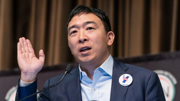 photo of Andrew Yang is optimistic about marijuana legalization with Biden as president image