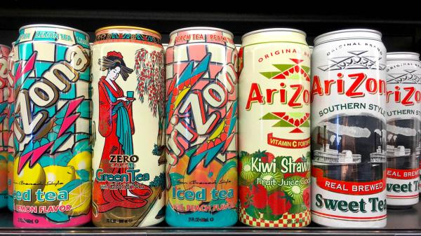 photo of Arizona Iced Tea is the Latest Beverage Brand to Get Into the Weed Game image