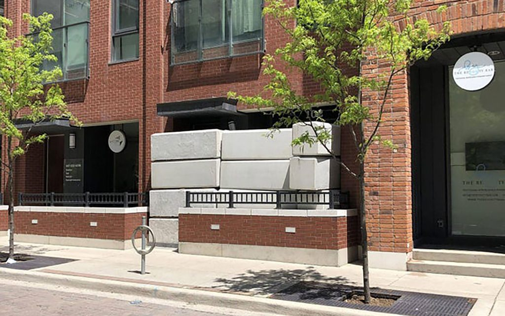 photo of Huge Cement Blocks Bar Access to Illicit Toronto Dispensaries image