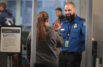 Staff At New York Airport Checkpoints…